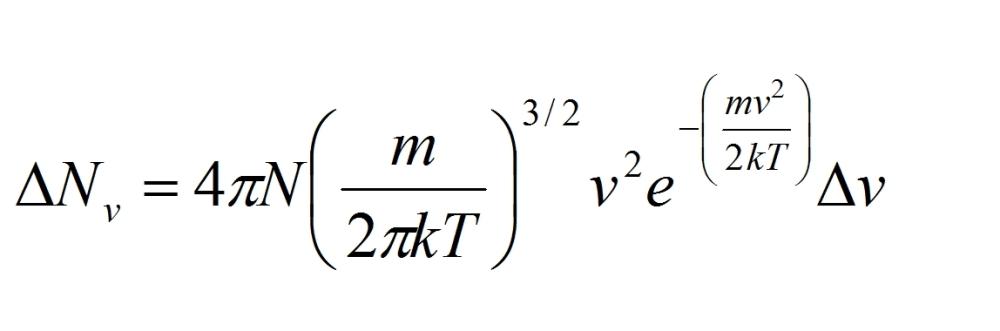 Distribuzione di Maxwell Boltzmann